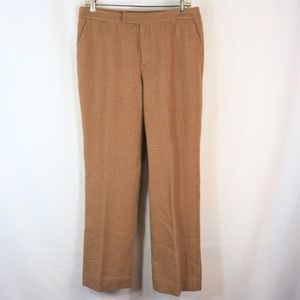 RALPH LAUREN PETITE 78% WOOL LINED TROUSERS 10P